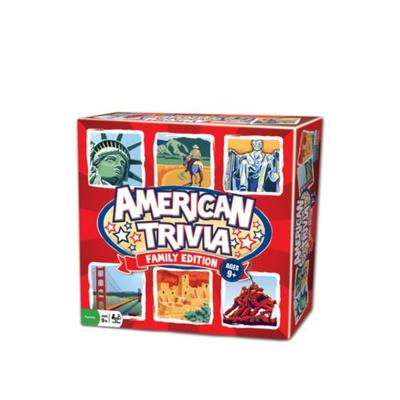 Outset Media American Trivia Family Edition Game