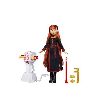Hasbro Assorted Pre-Pack Disney Frozen 2 Sister Styles Anna Fashion Doll With Extra Long Red Hair