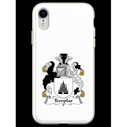 Templer oder Templer Flexible Hülle für iPhone XR