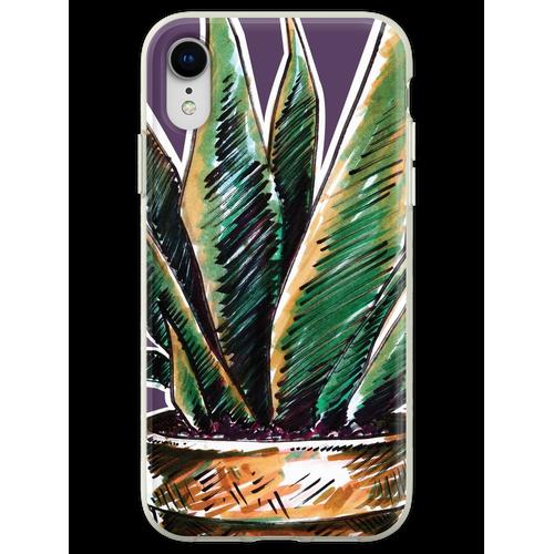 Pflanzen Pflanzen Pflanzen Pflanzen Flexible Hülle für iPhone XR
