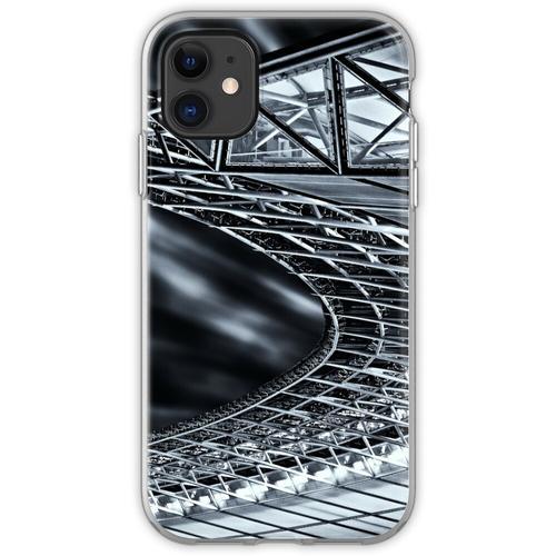 Berlin, Olympiastadion, Dachkonstruktion Flexible Hülle für iPhone 11