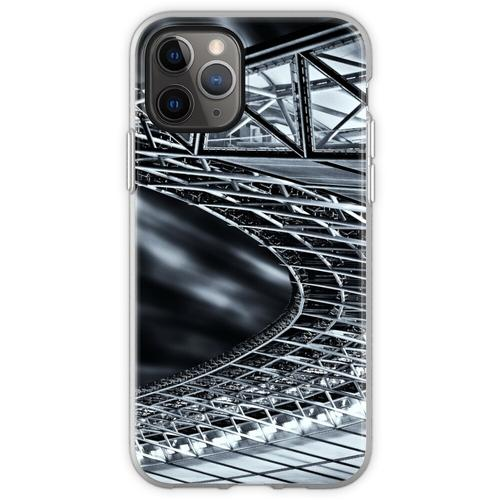 Berlin, Olympiastadion, Dachkonstruktion Flexible Hülle für iPhone 11 Pro