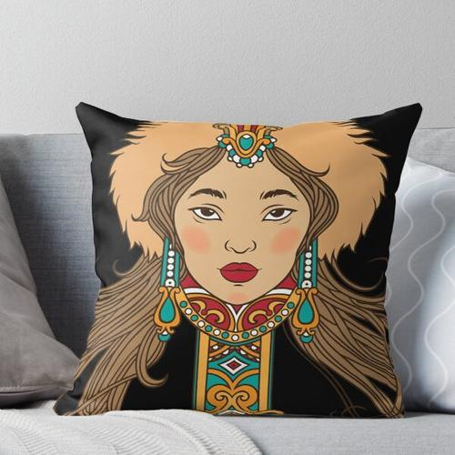 - Mongolisch - Kissen