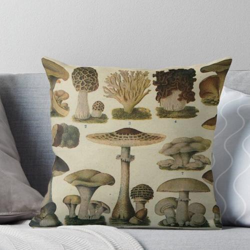 Essbare Pilze Kissen