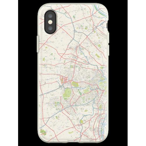 Tokyo OpenStreetMap Flexible Hülle für iPhone XS