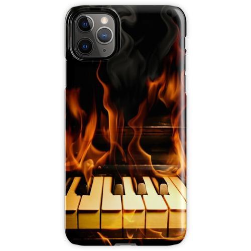 Brennendes Klavier iPhone 11 Pro Max Handyhülle