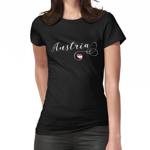 Herz Österreich, Österreicher, Ich liebe Österreich, Österreich Frauen T-Shirt