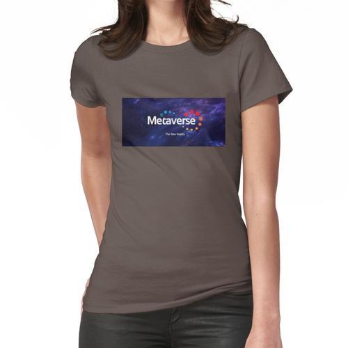 Metaverse T-Shirt - Krypto Shirt - Metaverse Shirt Frauen T-Shirt