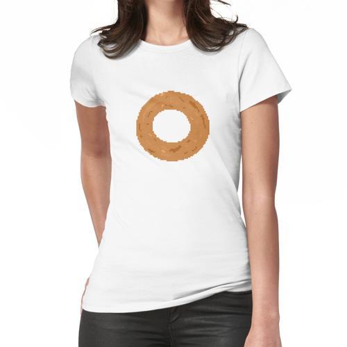 Pixel Zwiebelring Frauen T-Shirt