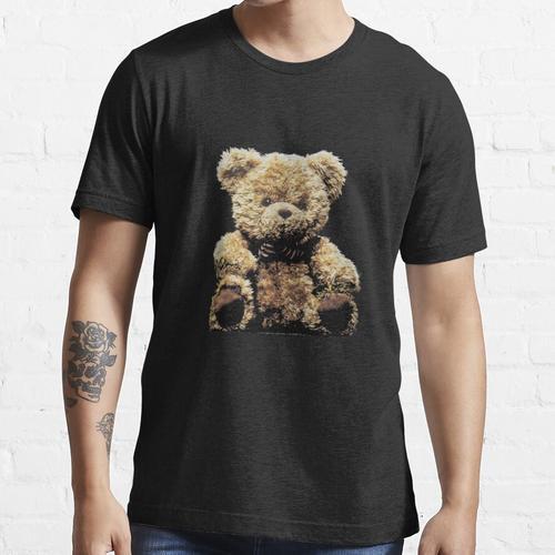 Teddybär Kuscheltier Stofftier Bär Essential T-Shirt