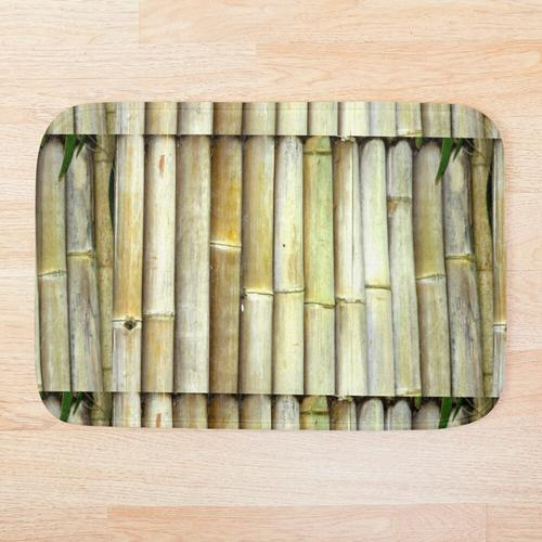 Bambus auch Badematte