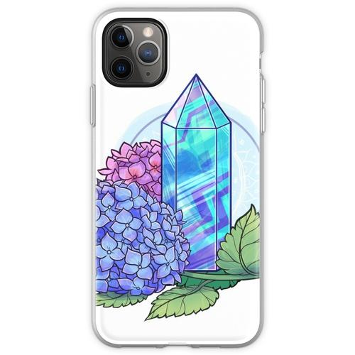 Fluorit-Kristallturm Flexible Hülle für iPhone 11 Pro Max