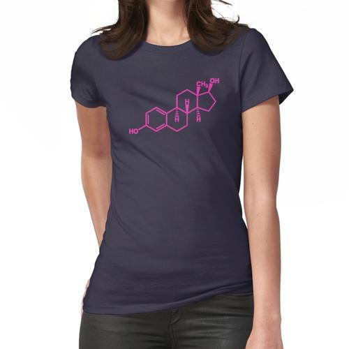 17β-Estradiol (Fuchsia) Frauen T-Shirt