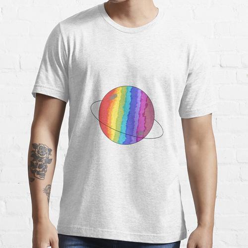 Regenbogenplanet Essential T-Shirt