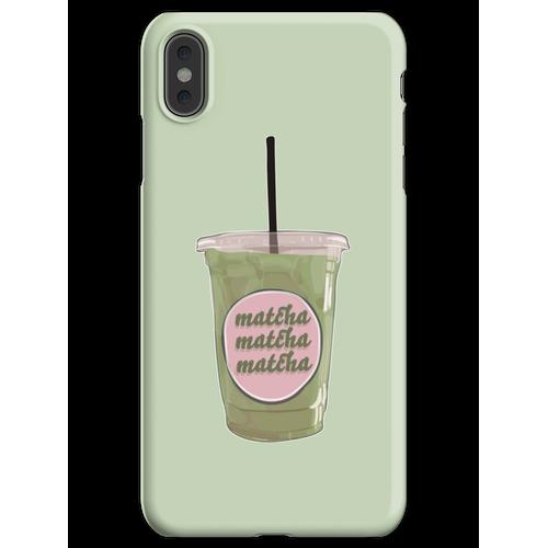 Iced Matcha Matcha Matcha iPhone XS Max Handyhülle