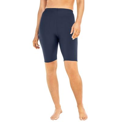Plus Size Women's Swim Bike Short by Swim 365 in Navy (Size 20)