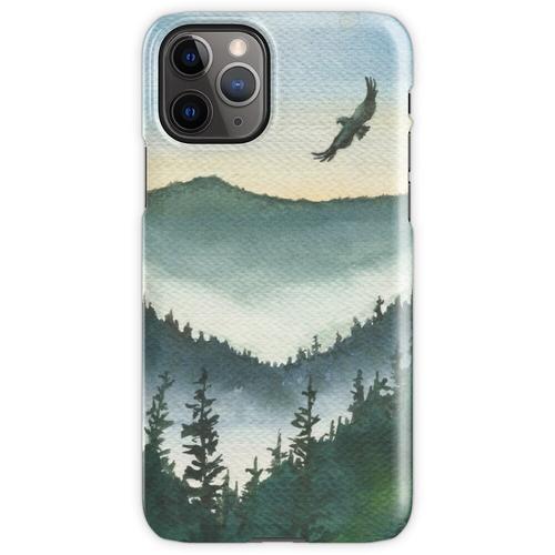 Bergadler Aquarell iPhone 11 Pro Handyhülle