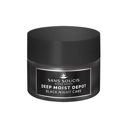 Sans Soucis Pflege Deep Moist Depot Schwarze Nachtpflege Creme 50 ml