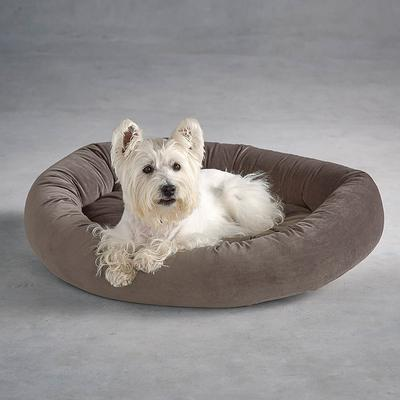 Ashton Donut Pet Bed - Taupe, Small (Up to 15 lbs.) - Frontgate