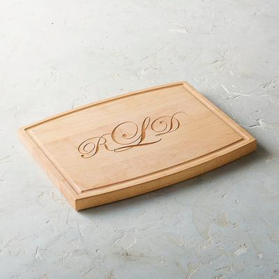 Personalized Artisanal Cutting Board - Frontgate