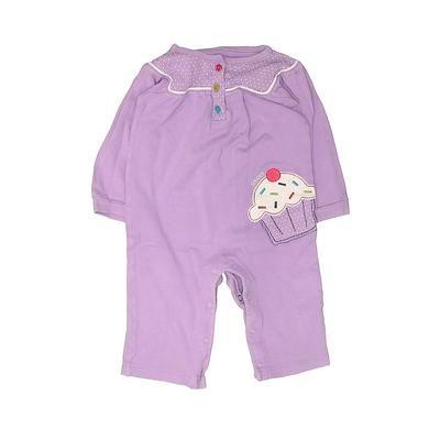 Carter's Long Sleeve Outfit: Pur...