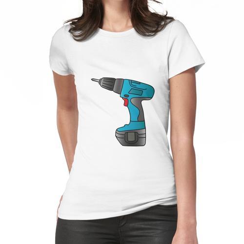 Akkuschrauber Frauen T-Shirt