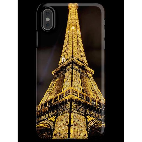 Der Eiffelturm Nachtbeleuchtung iPhone XS Max Handyhülle