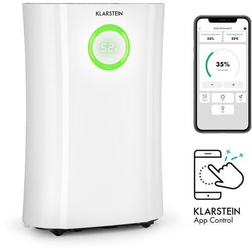 DryFy Pro Connect Luftentfeuchter WiFi Kompression 20l/d 20m² 370W weiß