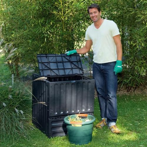 Komposter Eco-King, 400 l, schwarz