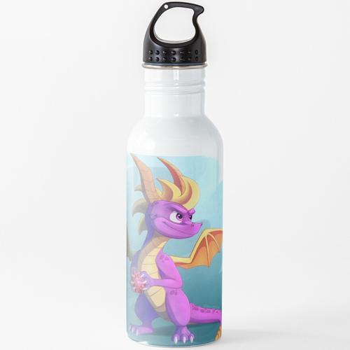 Edelsteine aufheben Wasserflasche