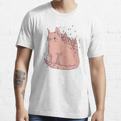Kätzchen pflanzen Essential T-Shirt