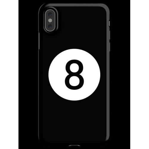 8 Ball Biliard Pool iPhone XS Max Handyhülle