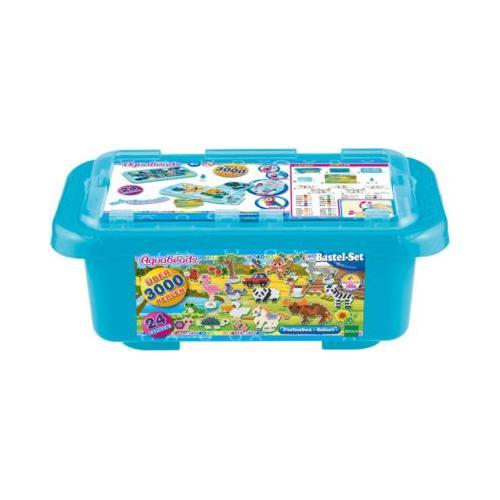 Aquabeads Mega Bastelbox Safari