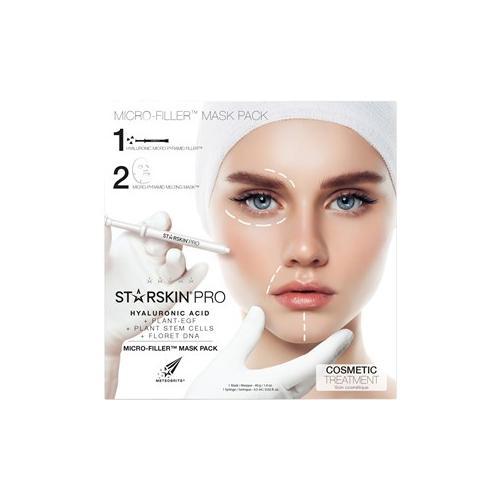 StarSkin Masken Gesicht Hyaluronic Acid Face Mask Set Micro-Filler Face: 1 Mask 40 g + 1 Syringe 0,5 ml 1 Stk.