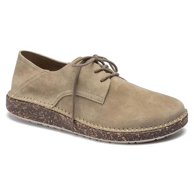 BIRKENSTOCK Gary Suede Leather Ginger Low Shoes