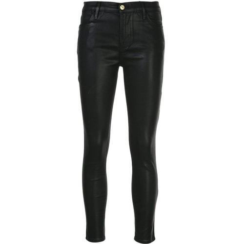 FRAME Beschichtete Skinny-Jeans