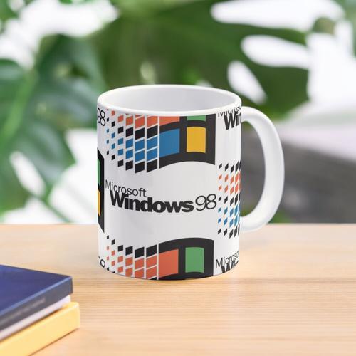 Microsoft Windows 98 Logo Mug