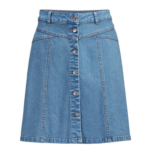Rock Alba Moda jeansblau