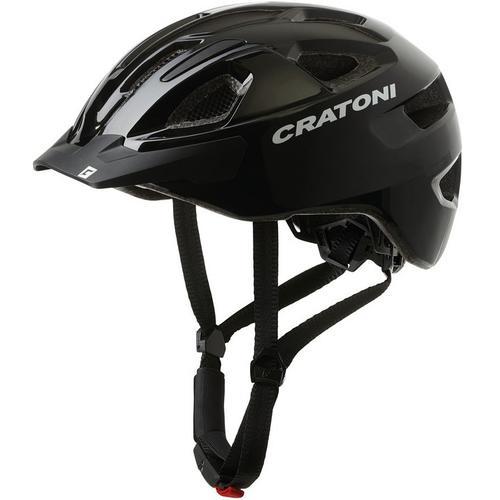 Cratoni Fahrradhelm City-Fahrradhelm C-SWIFT schwarz Rad-Ausrüstung Radsport Sportarten