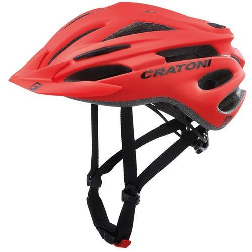Cratoni Mountainbikehelm MTB-Fahrradhelm Pacer rot Rad-Ausrüstung Radsport Sportarten
