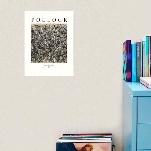 Jackson Pollock - Eins: Nr. 31 Kunstdruck