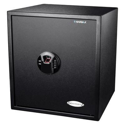 Barska AX12842 1.94 cu ft Large Biometric Safe w/ Fingerprint & Keypad Lock - Steel, Black