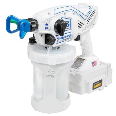 Graco 25R791 SaniSpray HP 20 Cordless Handheld Airless Disinfectant Sprayer, Battery Powered