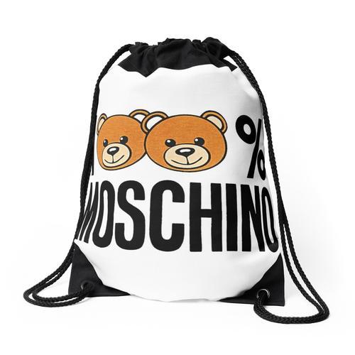 100% Moschino Rucksackbeutel