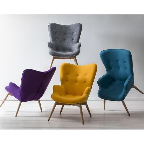 Salesfever »Scandi« Sessel gelb