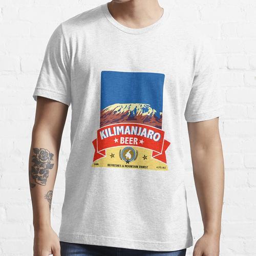 Kilimanjaro Larger - Kilimanjaro Beer Shirt - Bestes Bier Shirt - Freitag Nacht - Essential T-Shirt