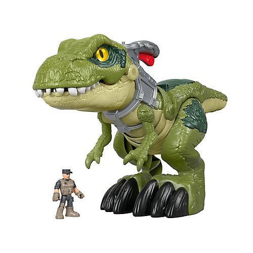 Fisher-Price Imaginext Jurassic World Hungriger T-Rex Dinosaurier-Spielzeug bunt