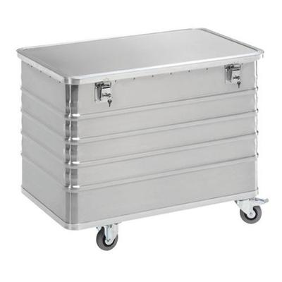 chariot conteneur en aluminium - capacité 322 l