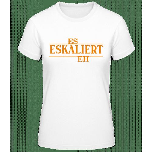 Es Eskaliert Eh - Basic T-Shirt