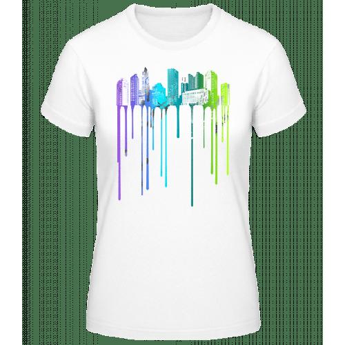 Graffiti Stadt - Basic T-Shirt